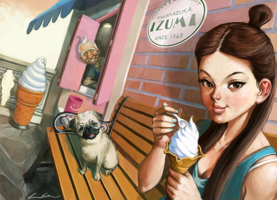 ice-ream shop by cuson