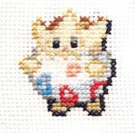 Togepi cross-stitch