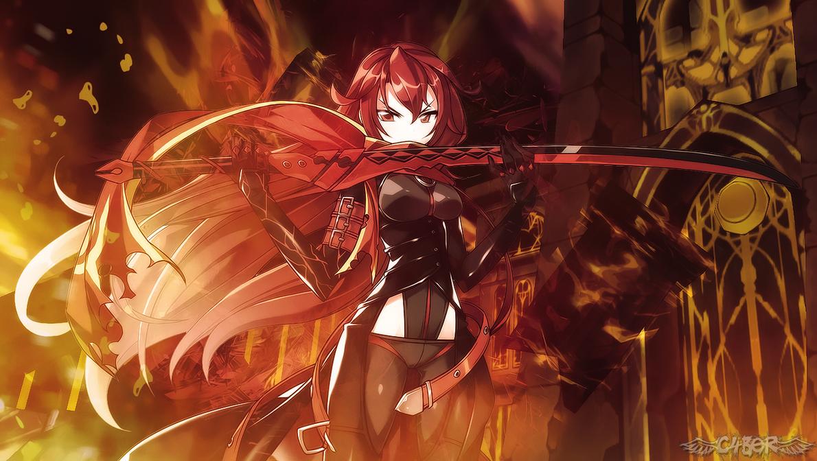 Lydia Fireclaw [ID] Elesis_dark_knight_by_cyberhunter3-d99ho5f