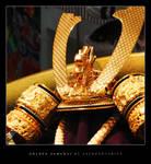 golden samurai by astroaquarius