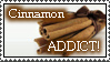 Cinnamon ADDICT Stamp by HeruNoTenchi