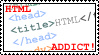 HTML Addict Stamp by HeruNoTenchi