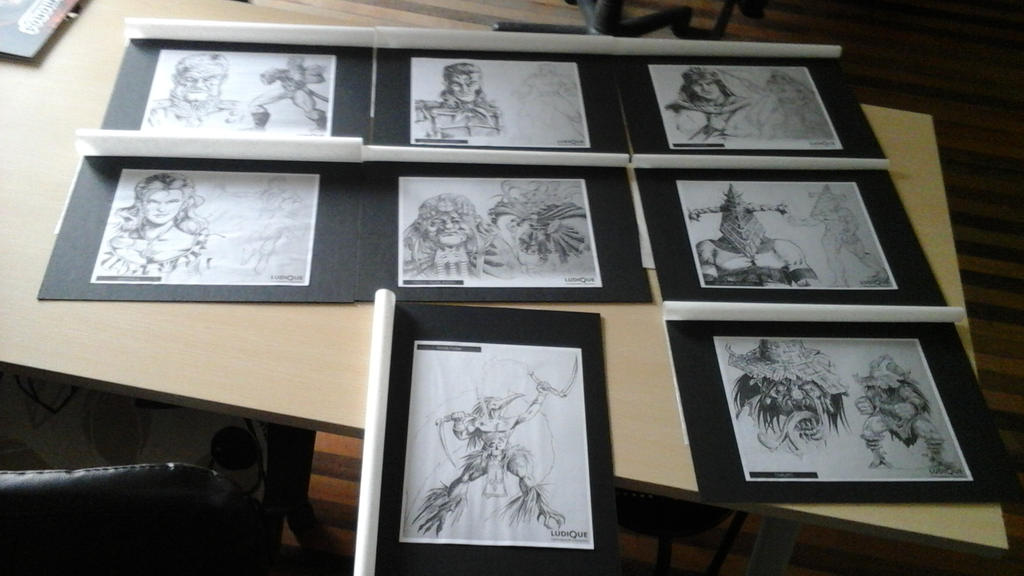 Concepto de Personajes CombateEpico by PillanLopez