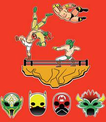 Super Smash Lucha!