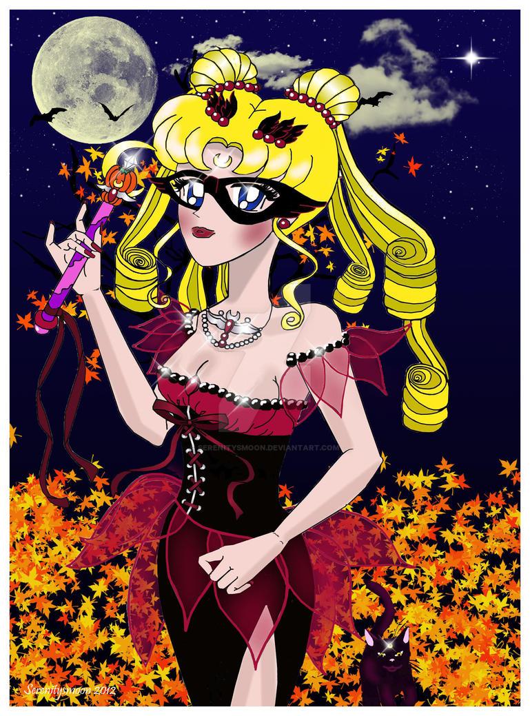 Halloween Princess Serenity by serenitysmoon