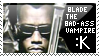 Blade the Bad Ass Stamp by mspolicy