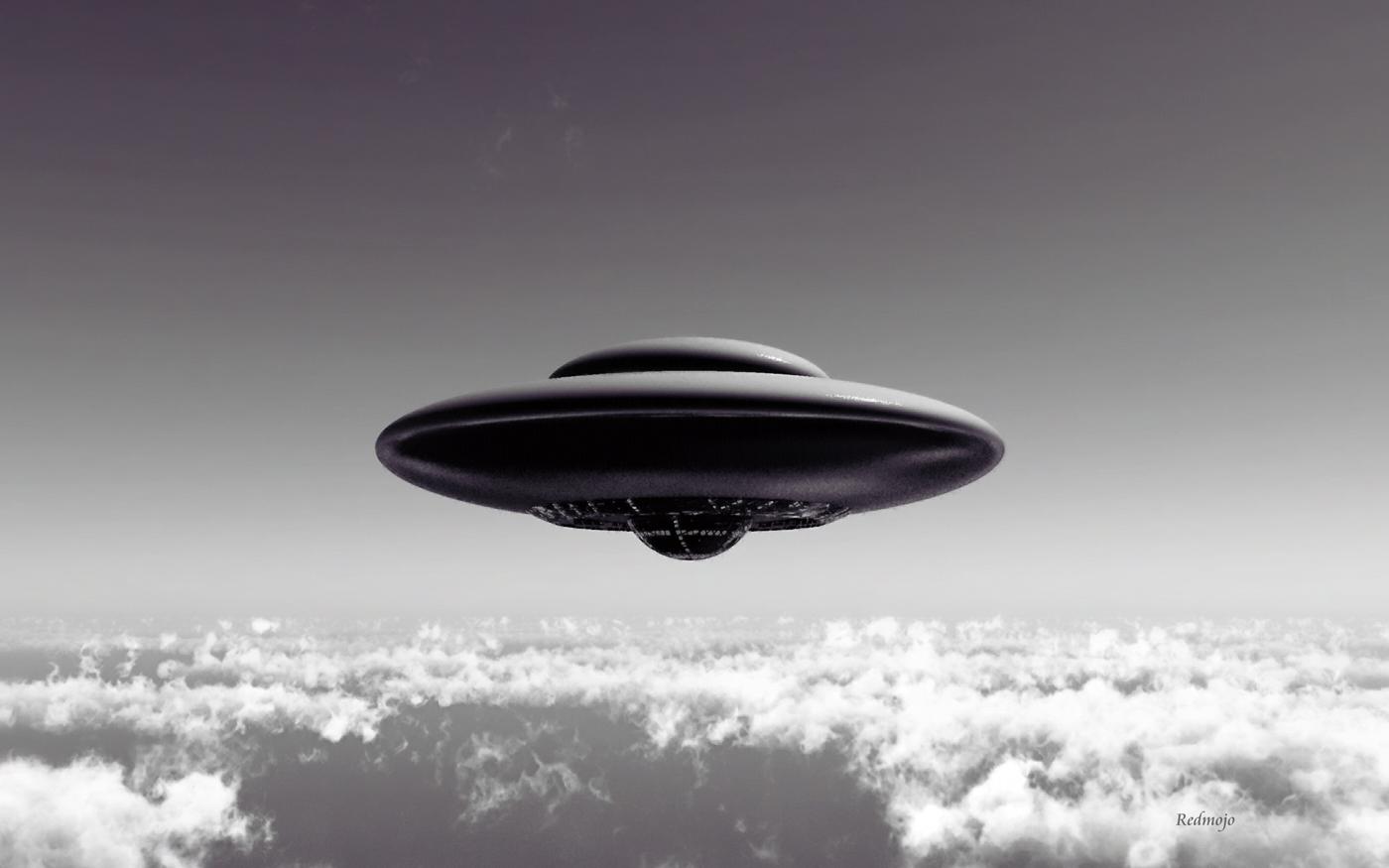 alien flying saucer - photo #12