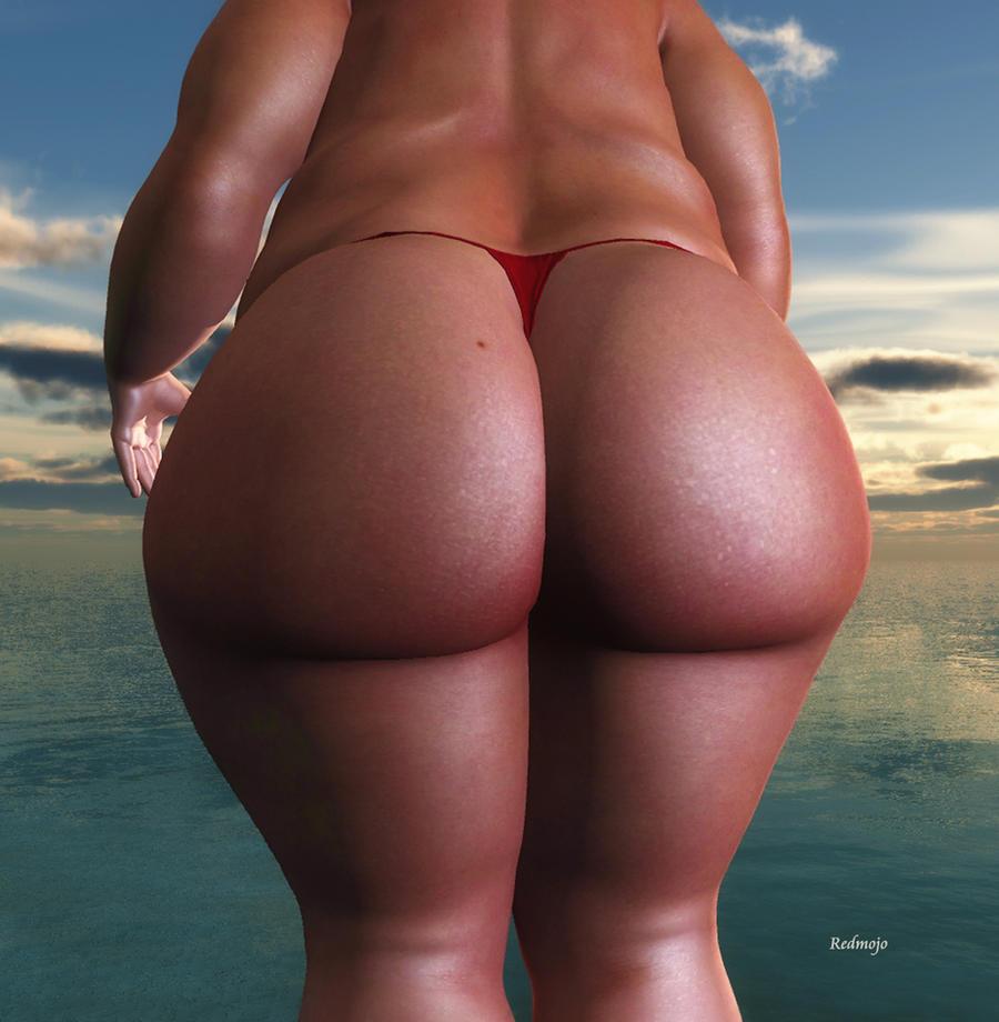 BBW_The Big Bum by Rendermojo