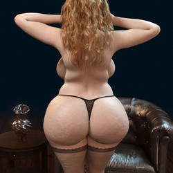BBW _ Ginger by Rendermojo