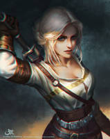 Ciri by GothicQ