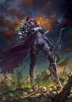 Battlefieldsunset by GothicQ