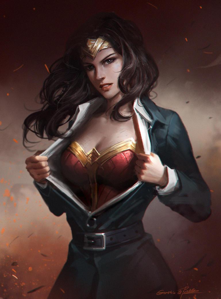 Wonder Woman by GothicQ