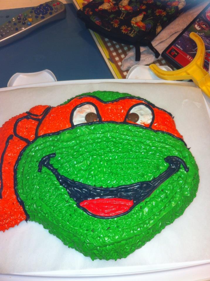 Ninja Turtle Cake Design Ideas