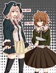 Dangan Ronpa: Nanami and Chihiro