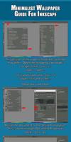 Minimalist Wallpaper Guide   Inkscape