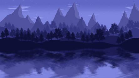 Landscape [5] - Mountain Lake