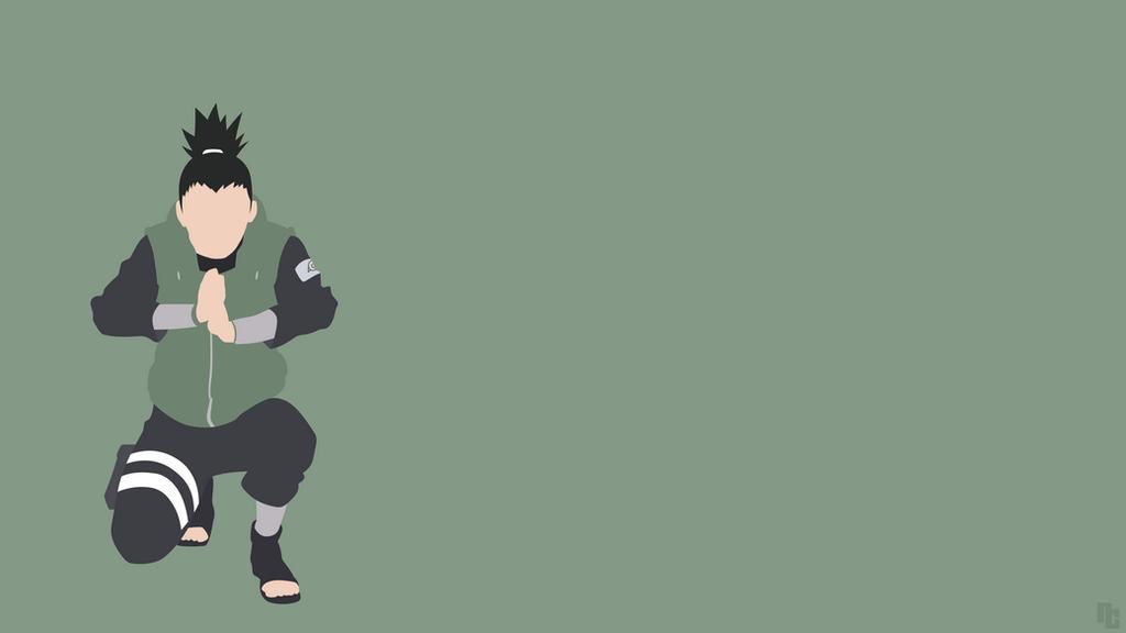 Sasuke Minimalista Fondo: Shikamaru Nara (Naruto) By Ncoll36 On DeviantArt