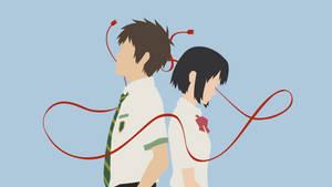 Mitsuha + Taki [2] (Your Name.)