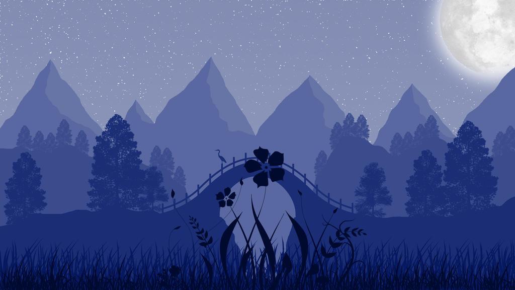 Landscape [13] -  Floral Night