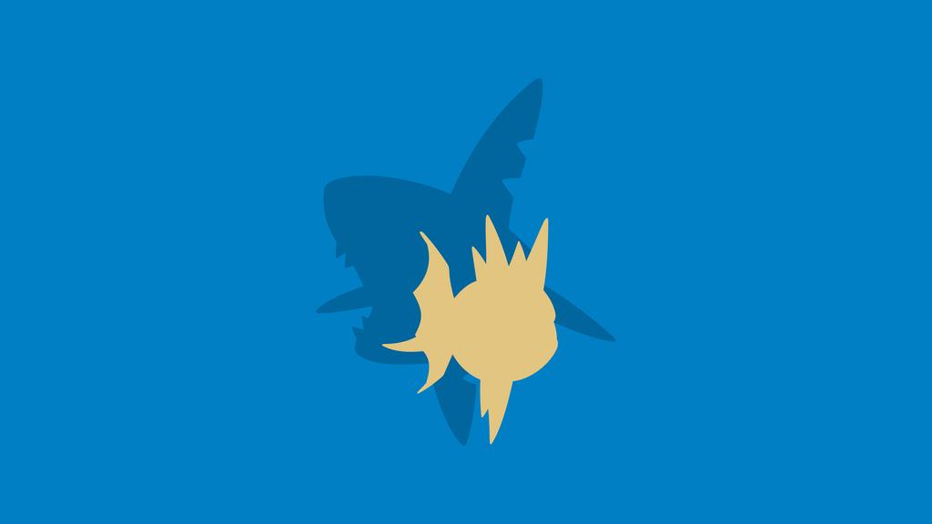 Carvanha - Sharpedo (Pokemon) by ncoll36