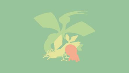 Trapinch - Vibrava - Flygon (Pokemon) by ncoll36