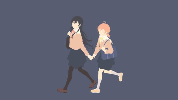 Touko Nanami + Yuu Koito (Bloom Into You)