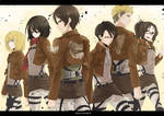 Attack on Titan : wing of freedom
