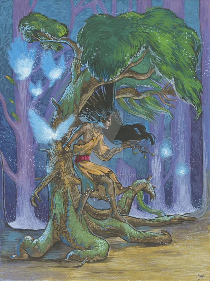 Zombie Tree by Matakoura