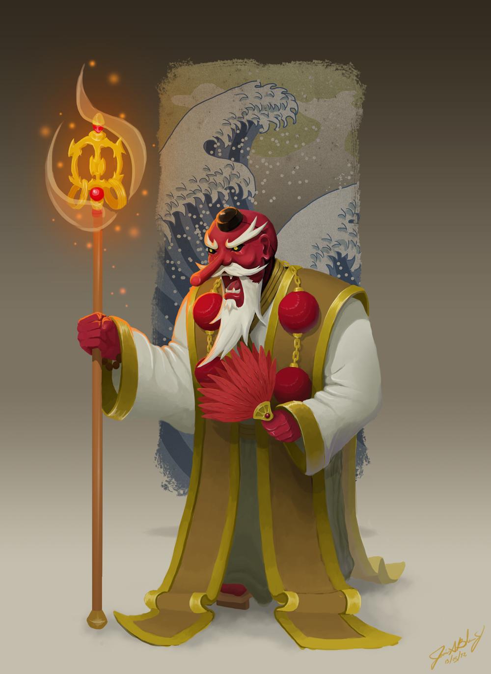 O Tengu by ChuchuaN