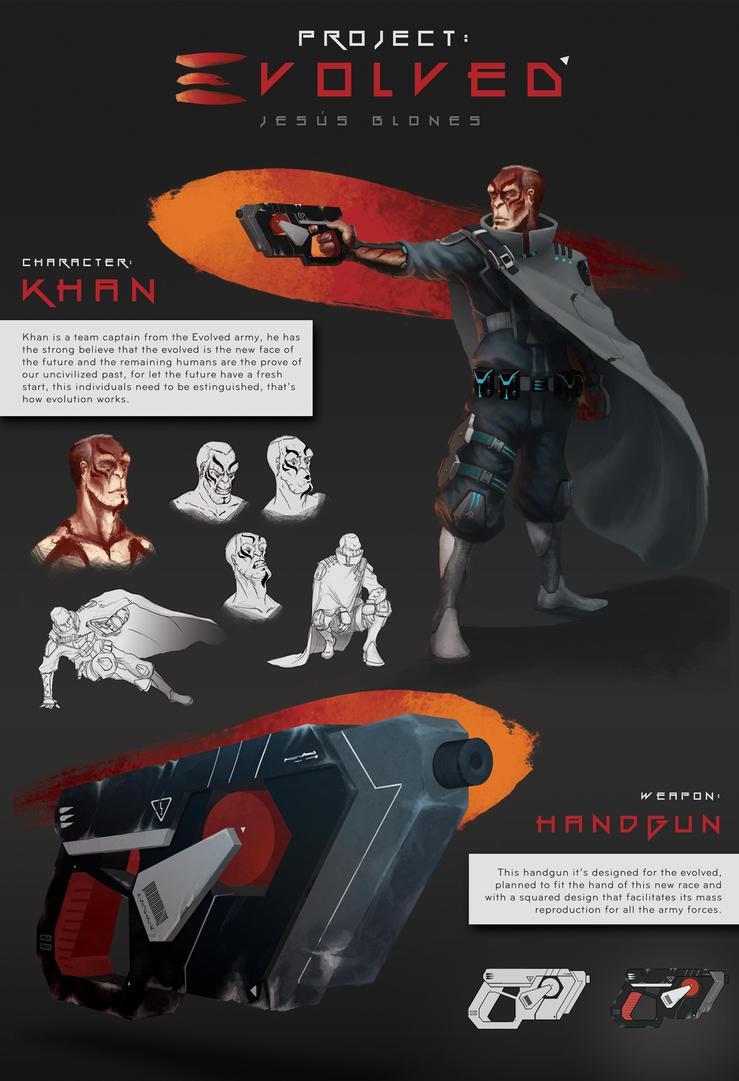 Project: Evolved - Khan and the Handgun by ChuchuaN