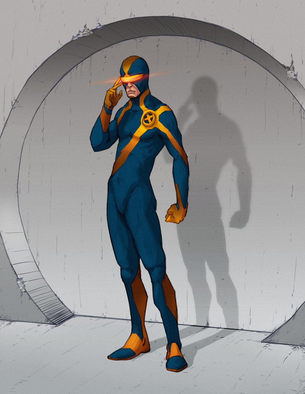 X Men Cyclops Drawings Cyclops - X-men by Chu...