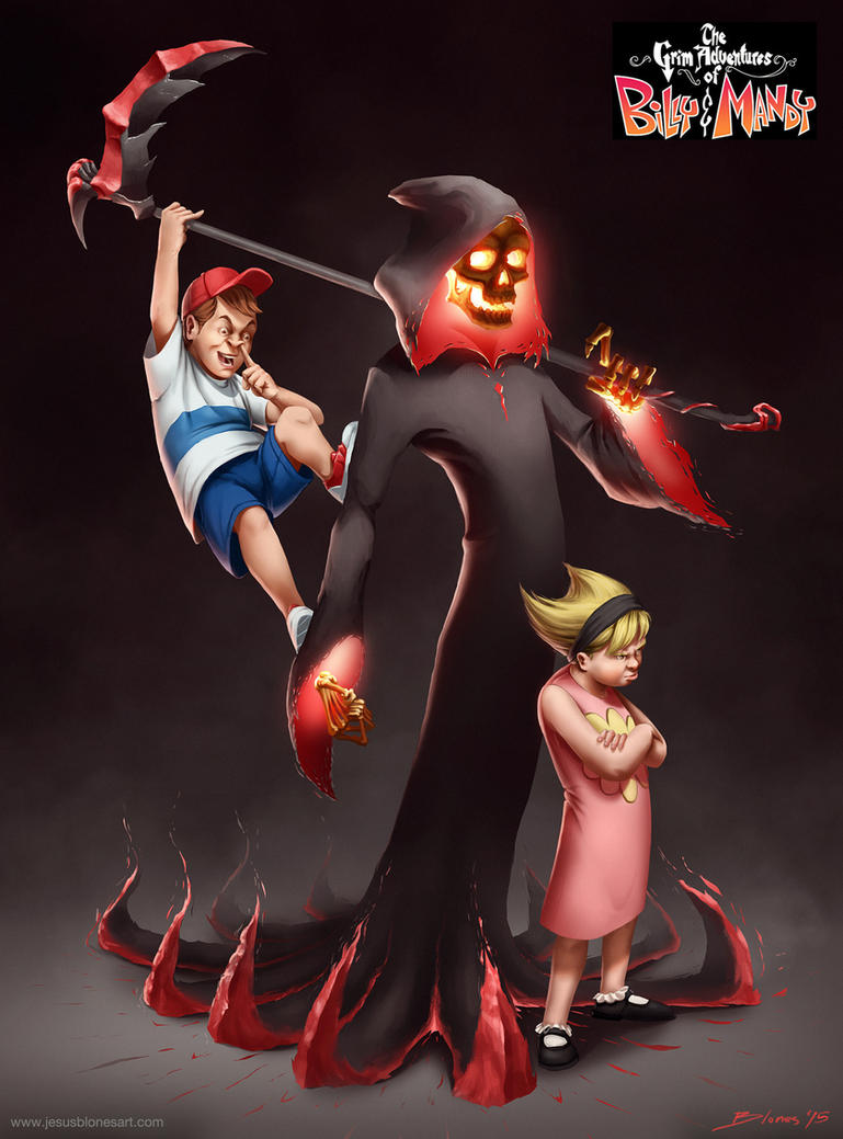 The Grim Adventures of Billy and Mandy by ChuchuaN