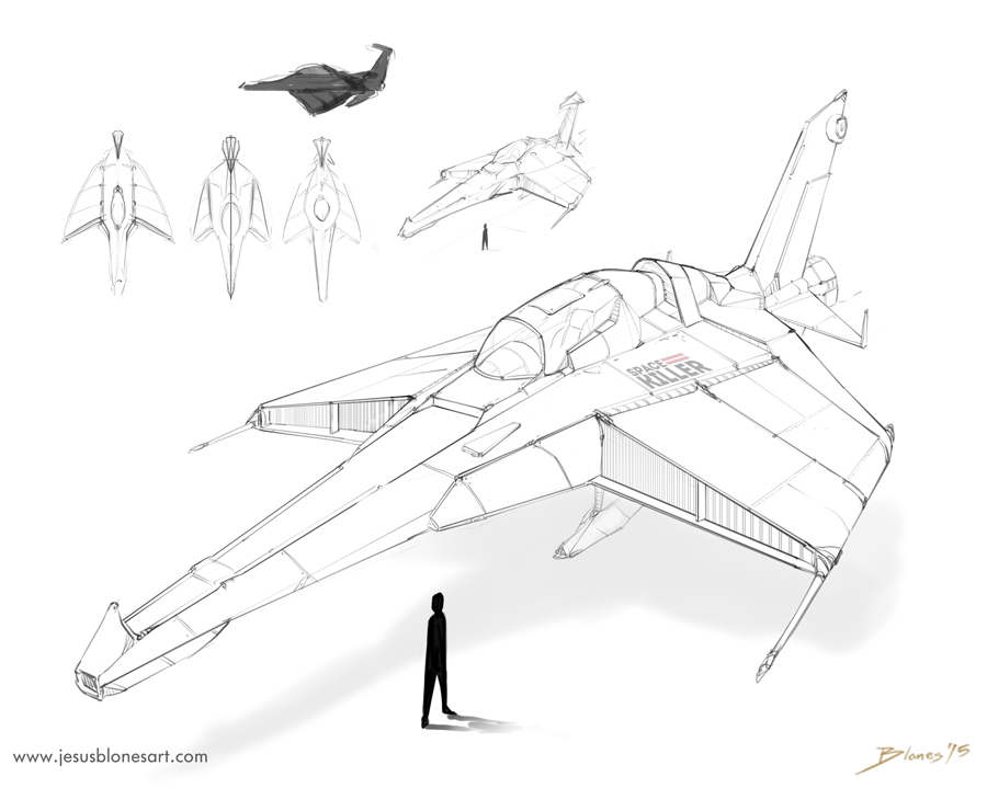 Spaceship concept by ChuchuaN
