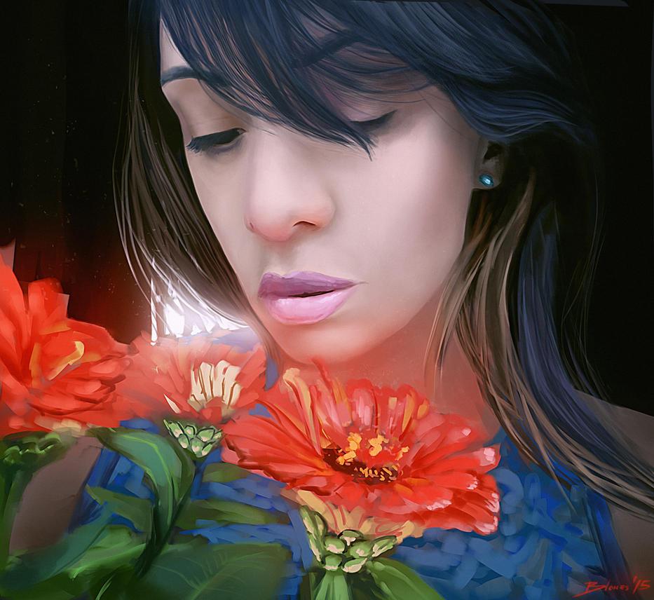 Dariana - Portrait by ChuchuaN