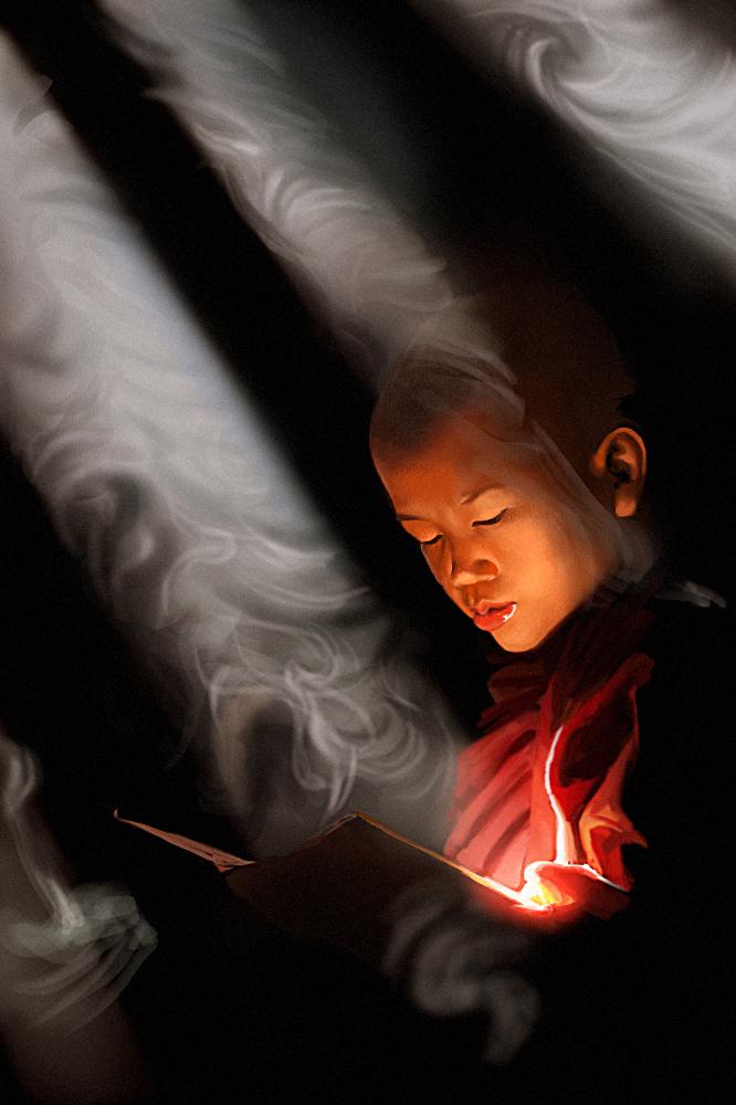 Little monk boy - practice by ChuchuaN