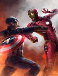 Captain America: Civil War by ChuchuaN