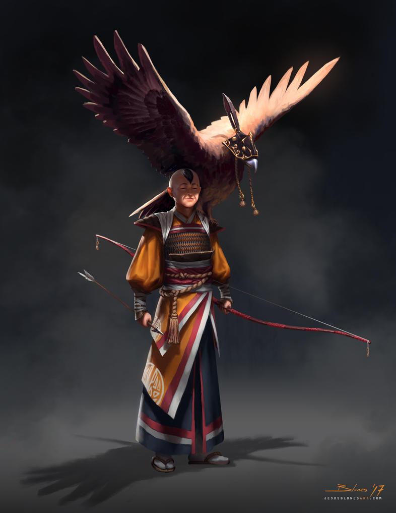 Hung - The hunter by ChuchuaN