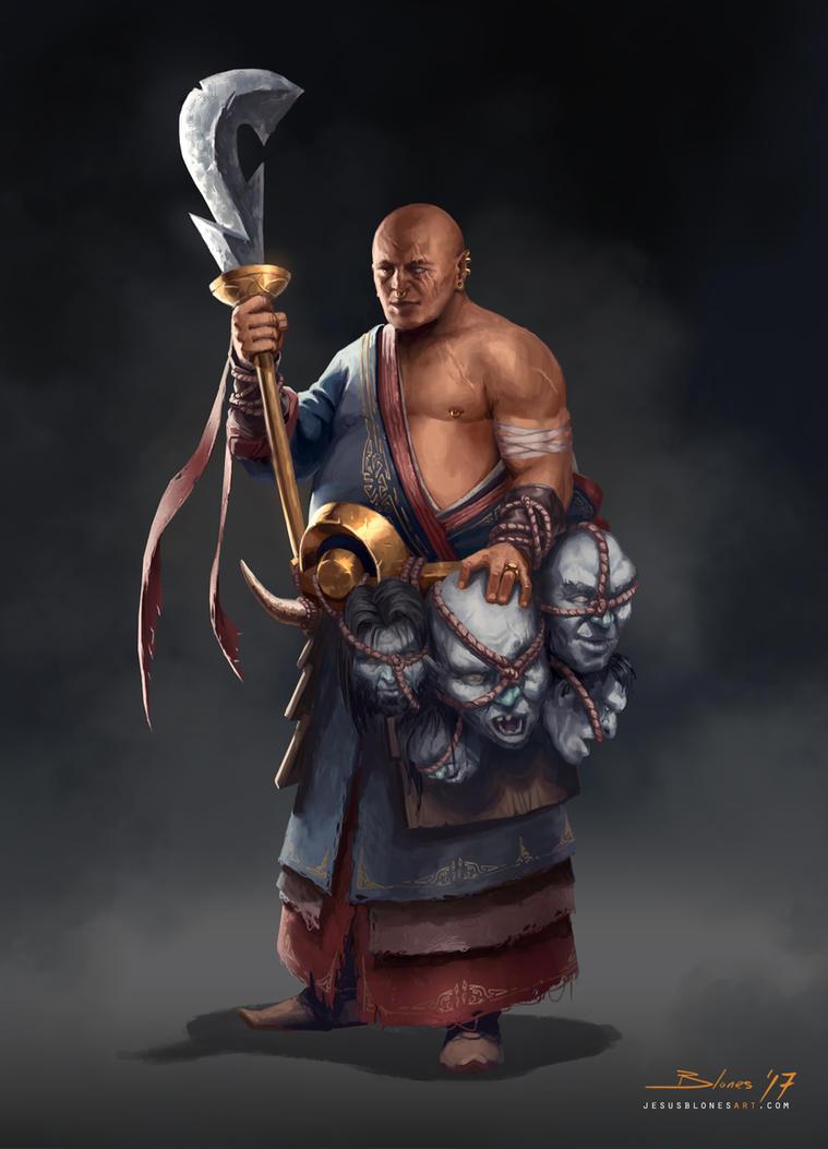 Zhao - The giant hunter by ChuchuaN
