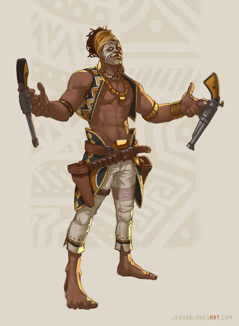 Ade Jabari - Gunsliger by ChuchuaN