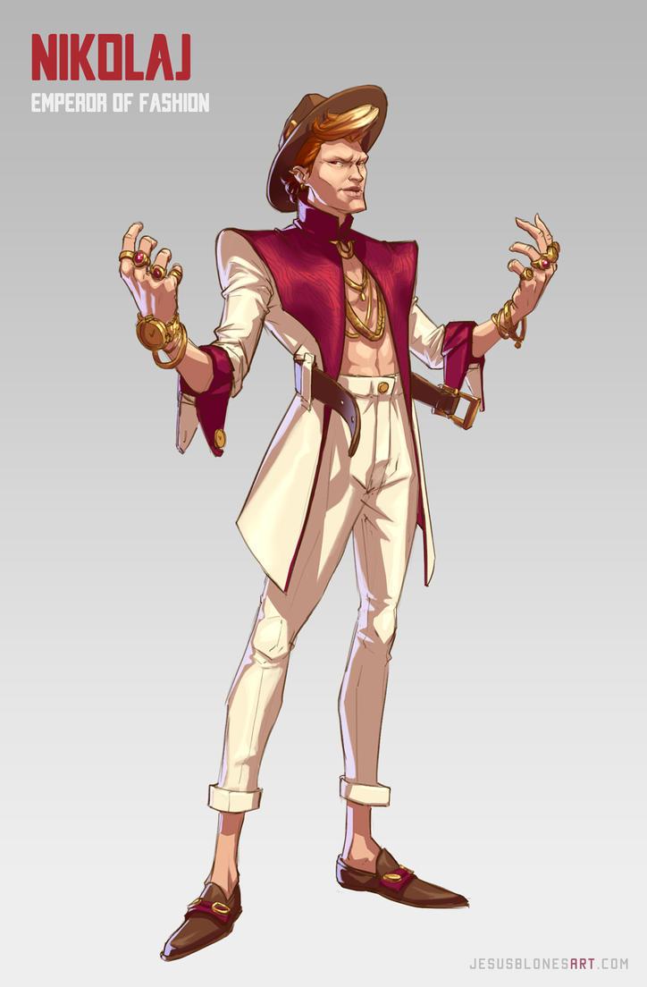 Nikolaj - Emperor of fashion by ChuchuaN