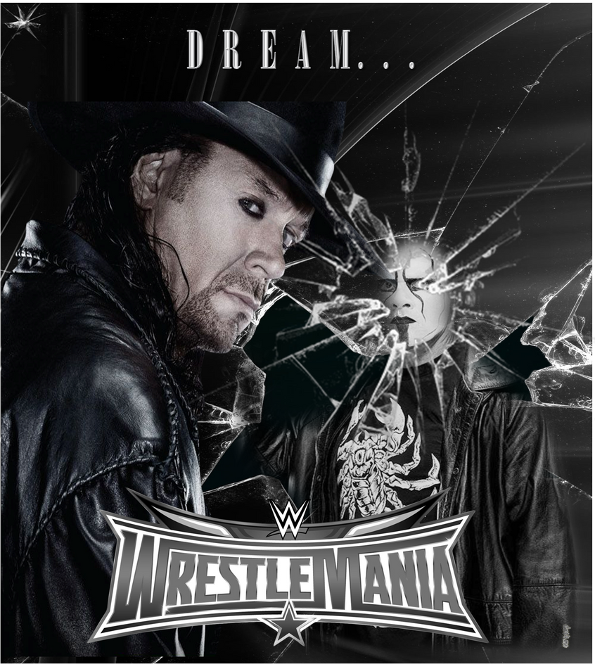 WrestleMania 32 Theatrical Poster #1 by MasroorWCW