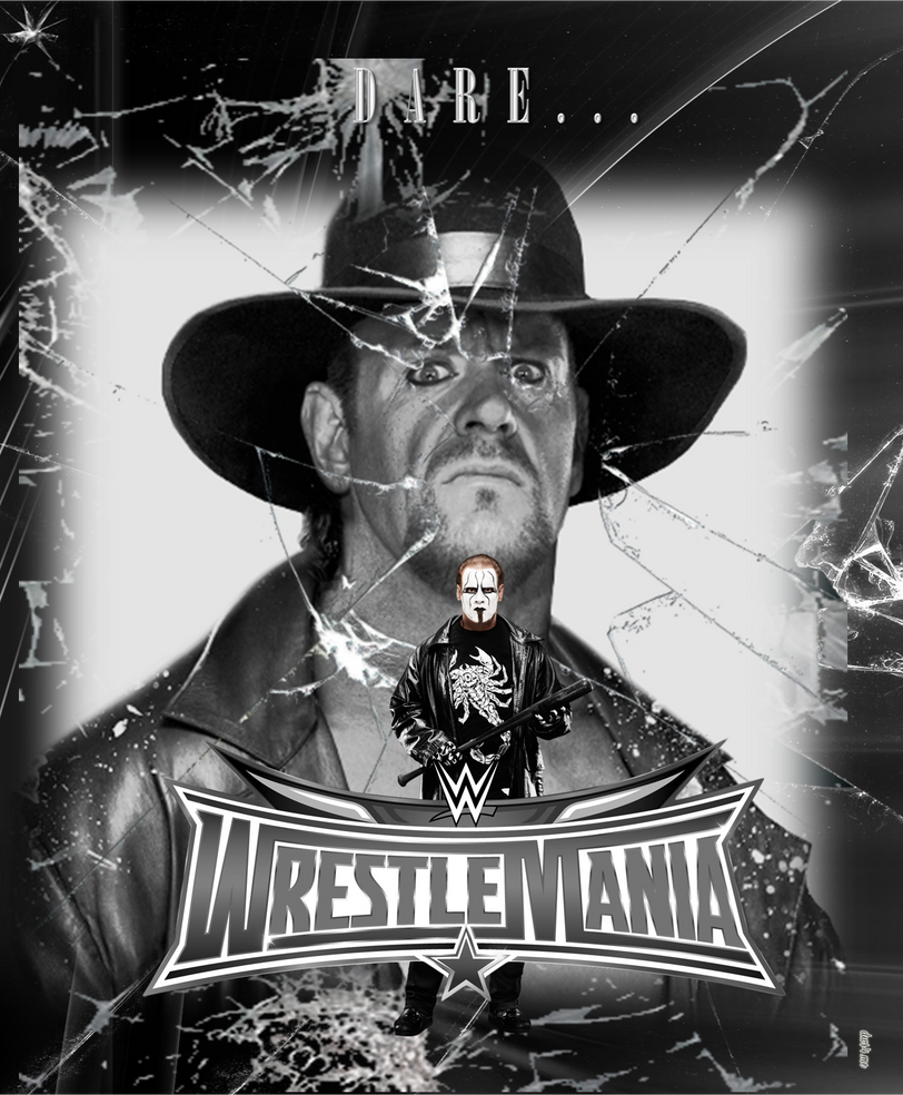 WrestleMania 32 Theatrical Poster #2 by MasroorWCW