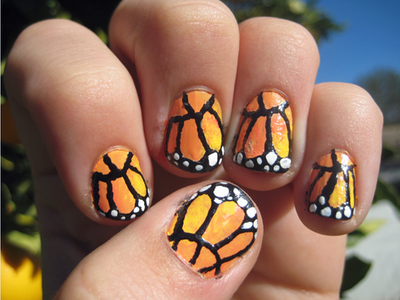 Monarch Nails - Details by Totally-Tomboy