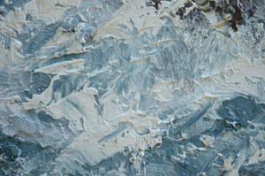 Heavy Paint Strokes Texture Stock Photo  _0049 by annamae22