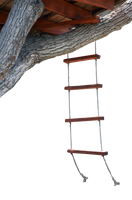 Tree House Rope Ladder Stock Photo 0721-PNG by annamae22