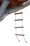Tree House Rope Ladder Stock Photo 0721-PNG