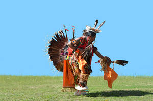 Native American Indian Figure Stock Photo 0269 by annamae22
