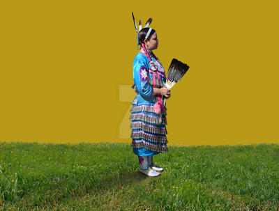Native American Indian Figure Stock Photo 0245