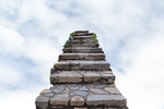 Staircase in the Clouds Background Stock PNG 0180