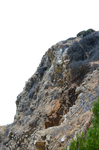 Rocky Cliff Stock Photo 0067 PNG